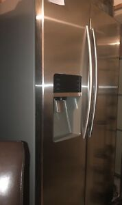 """Samsung 36"""" Stainless Side By Side Fridge"""