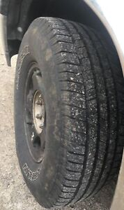 LT26575R16 Michelin LTX M/S 2 10 ply tires and Chevy rims