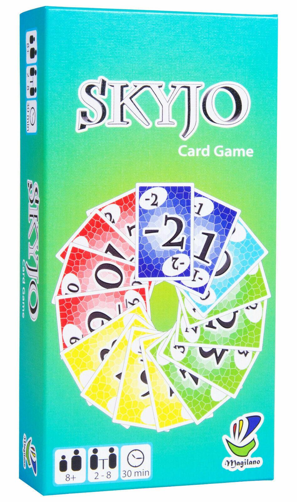 SKYJO Das unterhaltsame Kartenspiel für Jung und Alt !    Neu OVP