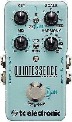 New Tc Electronic Quintessence Harmonizer Guitar Effects Pedal