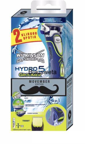 Wilkinson Hydro 5 Nassrasierer Rasierer mit Trimmer 1 Rasierklinge neu