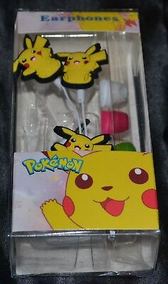 Used, Pikachu Ear Buds Headphones Headset Head Set Phones Head Phones Pokemon VER. 1 for sale  Shipping to India