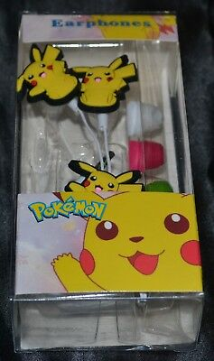 Pikachu Ear Buds Headphones Headset Head Set Phones Head Phones Pokemon VER. 1 for sale  Shipping to India