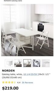 Ikea Dining table-Norden