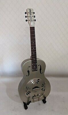 Gretsch G9201 Honey Dipper Round-Neck, Brass Body Resonator Guitar