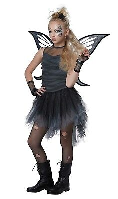 Enchanted Mystical Dark Fairy Costume Child Girls