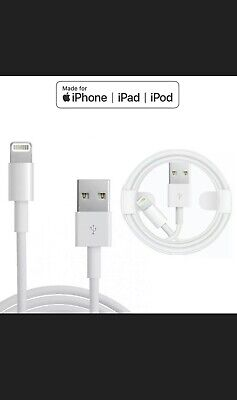 Genuine Original iPhone Apple Charger Cable Lighting USB 5 6 7 8...