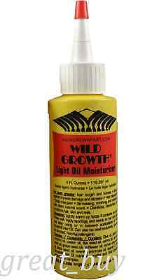 Wild Growth Hair Light Oil Moisturizer 4 fl.oz By Wild Growth. for sale  Shipping to India