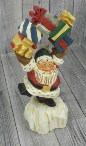 🔥David Frykman Figurine Christmas 1995 DF1013 Santa with Gifts🔥