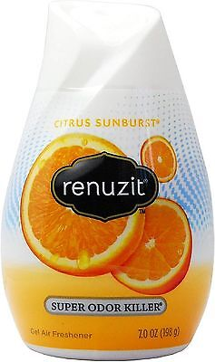 Renuzit Adjustables Cone Air Freshener, Citrus Sunburst, 7.5