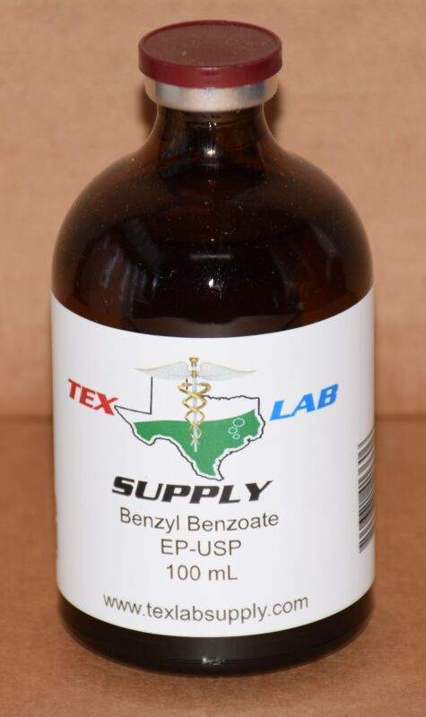 Tex Lab Supply Benzyl Benzoate NF-FCC/EP-USP 100 mL