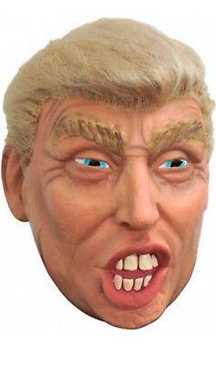 Maschera con Parrucca Presidente Stati Uniti d'America USA Mask Donald Trump
