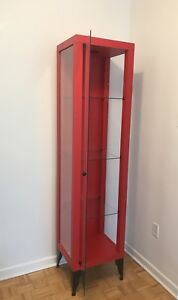 Moving Sale Modern Glass Bar / Cabinet From IKEA .