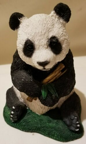 Panda bear Made in the USA Resin Collectible Statue
