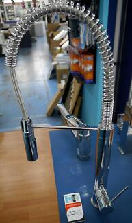 New Phoenix Slimline Tall Spring Kitchen Sink Mixer Tap