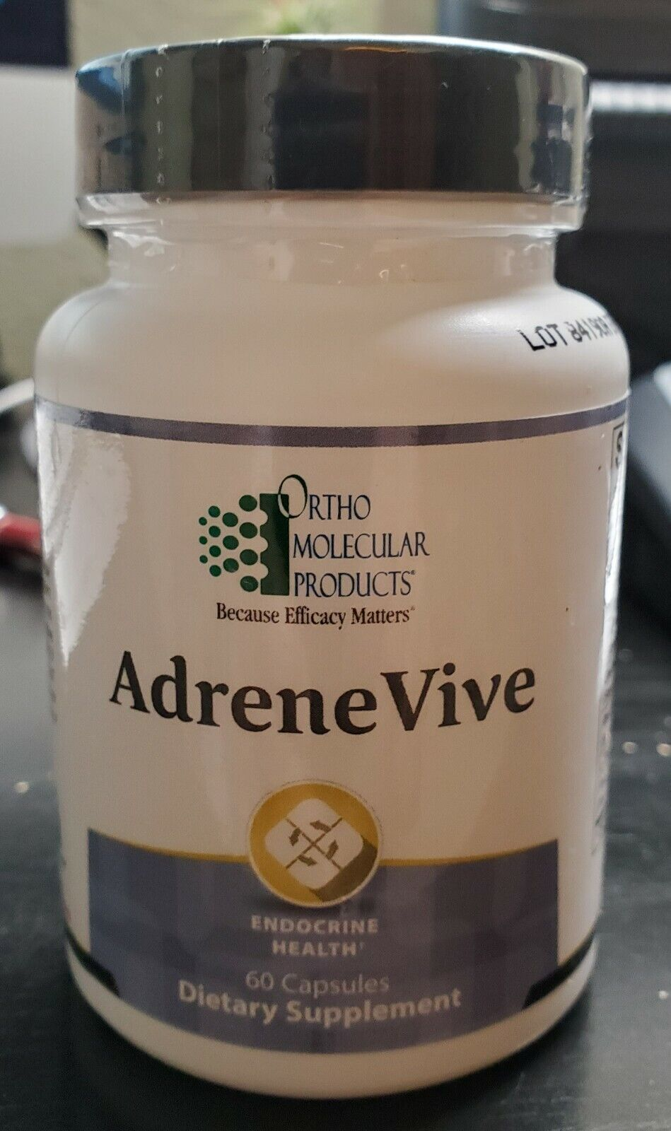 Ortho Molecular Products - Adrene Vive - Capsules 60 Count exp-7/2022