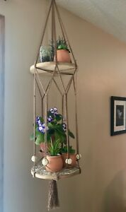 Hanging shelves/plant holder