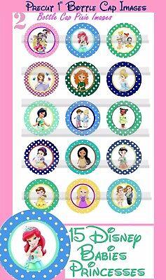 Disney Princess Babies 15 Precut 1