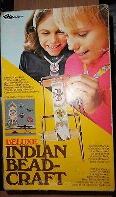 Walco DELUXE INDIAN BEAD-CRAFT LOOM-BEAD KIT - No. 3111 1974