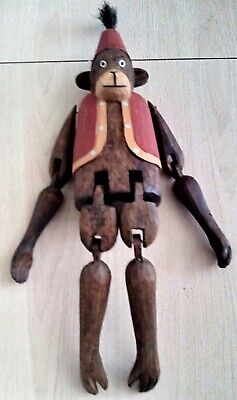 WOOD JOINTED MONKEY, 18
