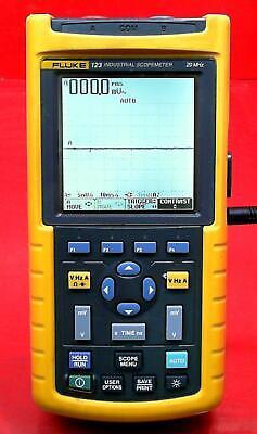 Fluke 123 20 Mhz Scopemeter