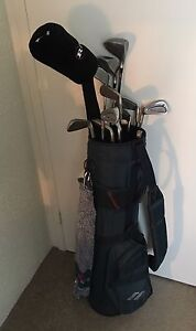 Men's left handed golf clubs full set