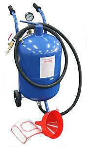 38 Litre 10 Gallon Pressure Abrasive Sand Blaster Sandblaster Portable Air Tool