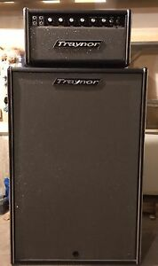 Traynor YBA-1 Bass Master Head With Matching 2 X 15 Cabinet