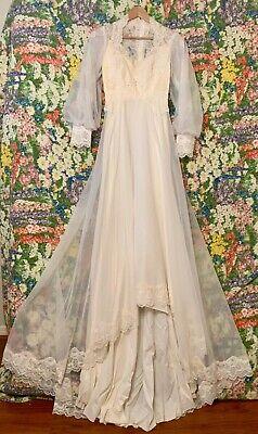 Vintage bridal Wedding Dress size 5-6  Wedding Gown