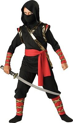 Ninja Warrior Martial Arts Child Costume (Martial Arts Ninja Kostüm)