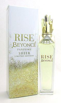 Beyonce Rise Sheer Ltd Eau De Parfum Spray 3 4 Oz  100 Ml For Women