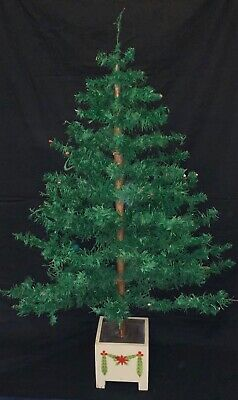 Vintage Artificial Christmas Trees.Spectacular Vintage 4 Western Germany Feather Tree