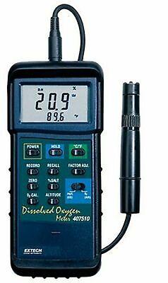Brand New Extech Instruments 407510 Dissolved Oxygen Meter Heavy Duty
