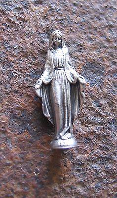 Heilige Maria Mutter Gottes Figur neu Madonna Devotionalien Handschmeichler