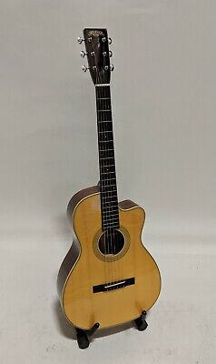 Recording King RP1-626-CFE1 0 Body Acoustic Guitar with Fishman Matrix EQ