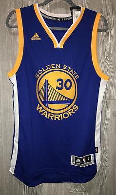 ADIDAS Warriors Steph Curry #30 Swingman Twill Basketball Jersey NEW Mens S 2XL