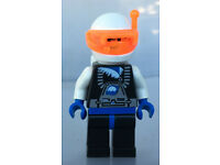 Lego Mini Figurine Space ICE PLANET Chief sp019 Set 6705 6834 6973 6983