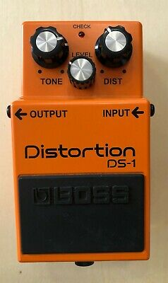 Boss DS1 Distortion pedal. The benchmark in guitar distortion for decades.