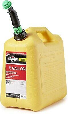 Diesel Fuel Can Smart Fill Epa Compliant 5 Gallon Briggs Stratton 85056