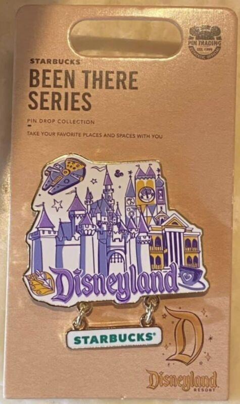 Disneyland Starbucks been there series pin