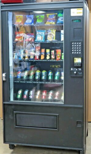 AMS 39 VCF Canned/Bottled Combination Snack/Soda Vending Machine