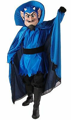 Blue or Red Devil Professional Quality Mascot Costume Adult Size - Blue Devil Costume