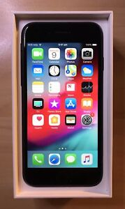 iPhone 7 32gb BLACK IMMACULATE APPLE WARRANTY TAX INVOICE
