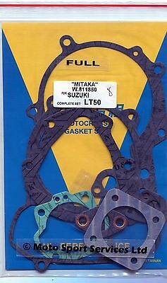Full Engine Gasket Set Suzuki LT 50 Quad LT50 LTA50 LTA Mitaka (850)