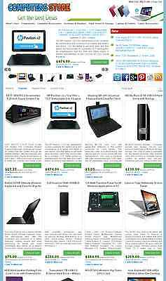 Computer And Laptop Store - Ebay Amazon Commission Junction Affiliate Website