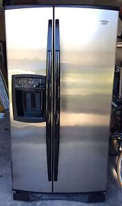 Whirlpool Gold side-by-side full size refrigerator