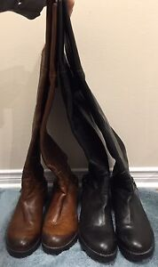 2 pairs of Rudsak leather boots