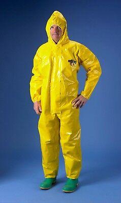 New Tychem Br 130 Nbc Suit Chemical Hazmat Chem Suit -choose Size Lxl5x8x
