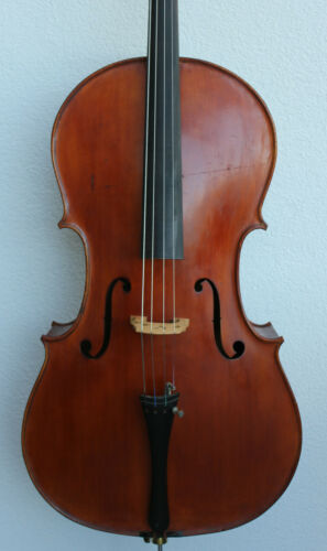 "Old used Cello ""Postigione Napoli"" !!! Fine used cello ! ! ! Look ! !"