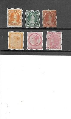 Canadian Provinces.   Lot  PIE 11-12 Never hinged